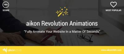 Joomla  aikon Revolution Animations Joomla разработка
