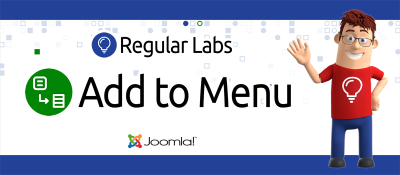 Joomla  Add to Menu Joomla разработка
