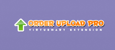 Joomla  Order Upload Pro for Virtuemart Joomla разработка