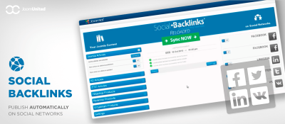 Joomla  Social Backlinks Joomla разработка